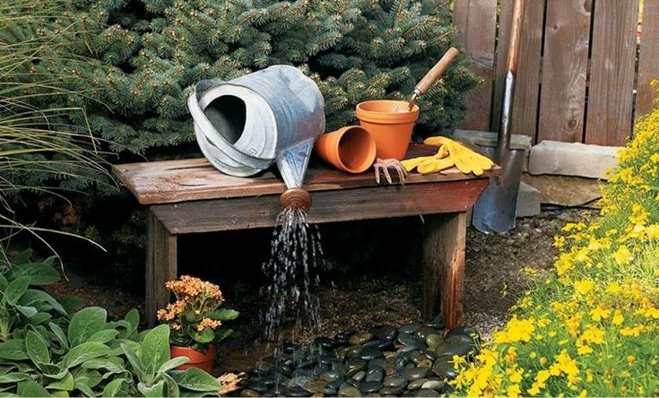 Fontaine solaire DIY