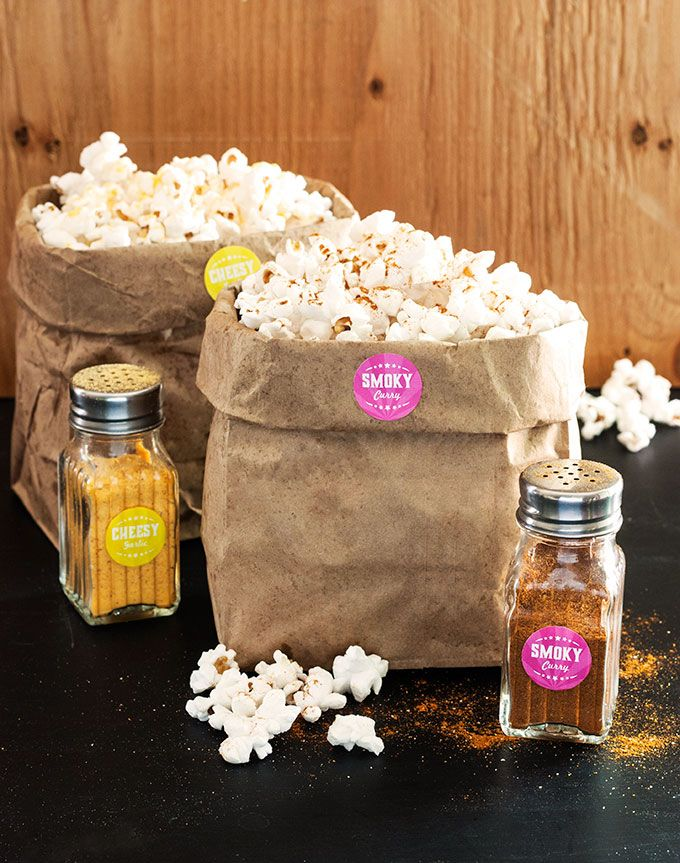 Homemade Popcorn Seasoning Kit   The Evermine Blog   www.evermine.com