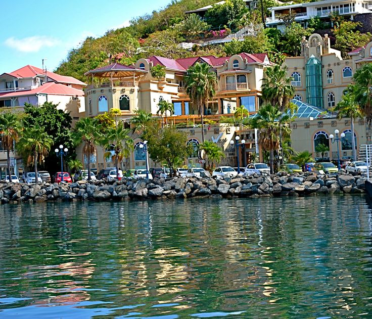 Marigot, St. Martin ~ The West Indies Mall ~ so much fun to take the water taxi, drink tons of rum and then go shopping...#dayillneverforget