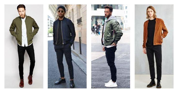 Ανανέωσε το στυλ σου με ένα bomber jacket, και συνδύασέ το: 👉Με παντελόνι denim/chinos 👉Με πουκάμισο 👉Με λευκά sneakers 👉Με μποτάκια τύπου Dr Martens, Chukka ή Timberland Βρες εδώ μεγάλη ποικιλία σε επώνυμα bomber jackets και μπουφάν!