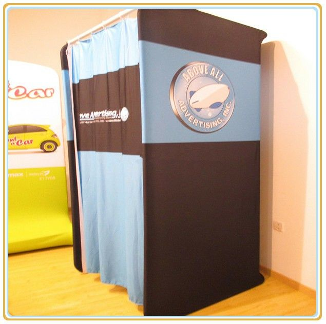 Portable Dressing Rooms for Retail Stores Wardrobe Dressing Fabric Room