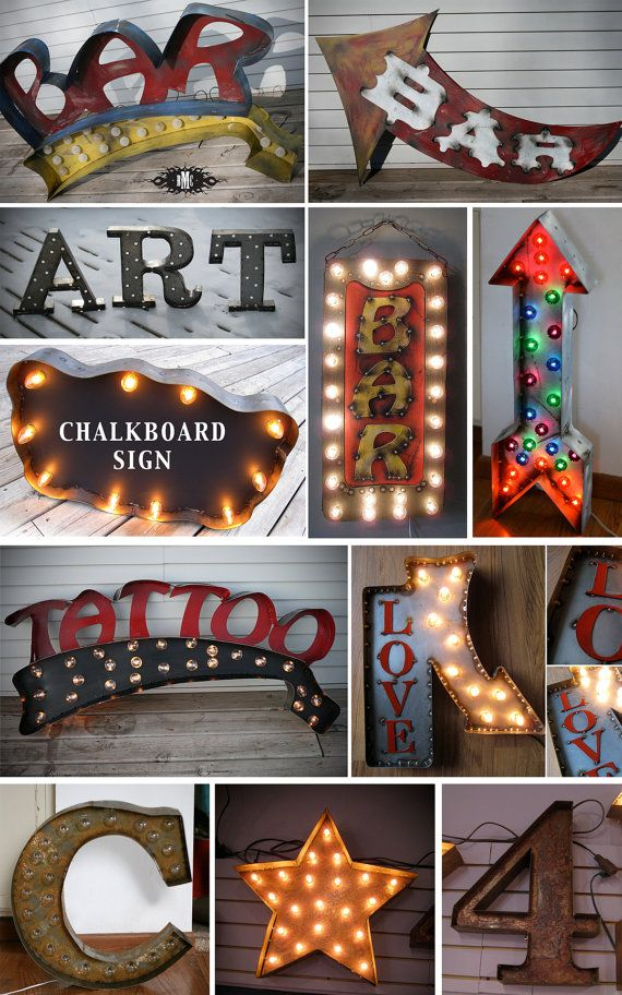 Custom Marquee Signs....