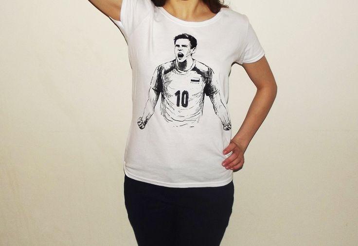 Fanowska koszulka z Wlazłym :)