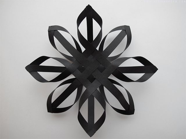 Diy Projects: 3d Snowflake out of Paper