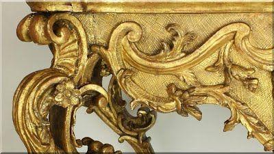 barokk asztalláb