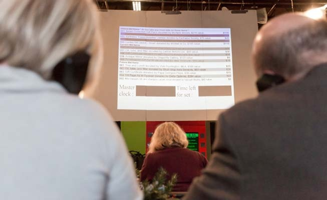 With 250 items on the block, the phones were constantly ringing during last Saturday's 22nd annual Rotary TV Auction.
