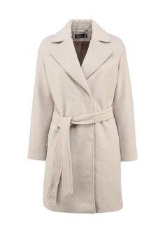 Пальто Love Republic, цвет: бежевый. Артикул: LO022EWFRF08. Женская одежда / Верхняя одежда / Пальто