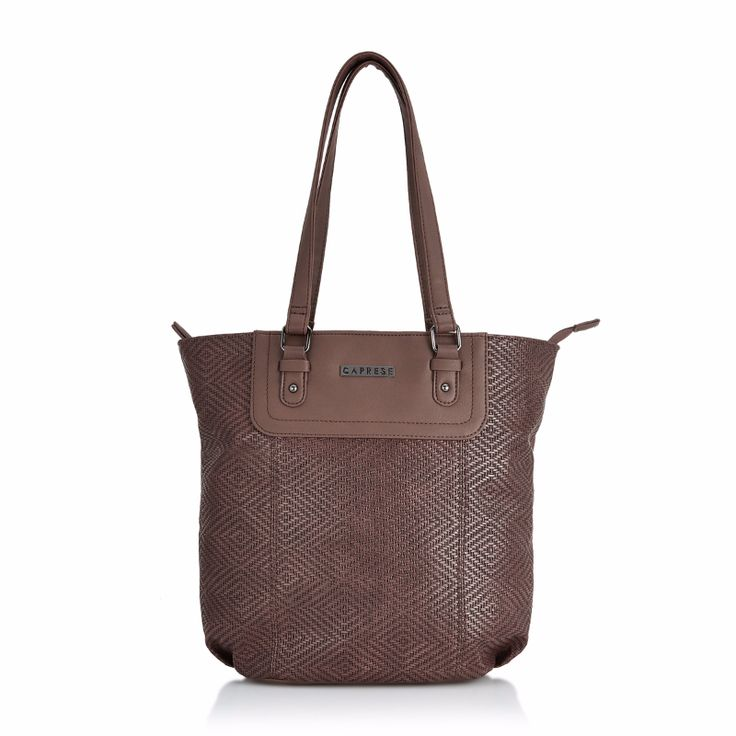 Brown in color, simple yet stylish. This tote bag has ample of space to keep your daily stuff organised. Click on the pic to buy now.