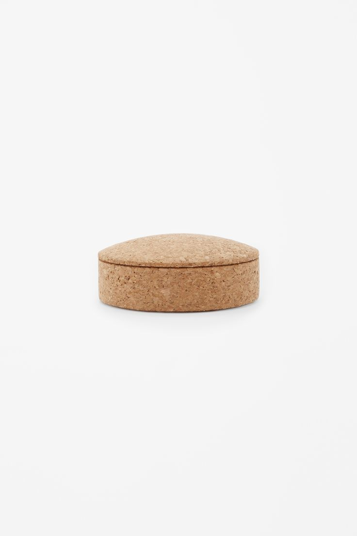 COS, HAY, medium cork lens box, home goods, decor, trinkets