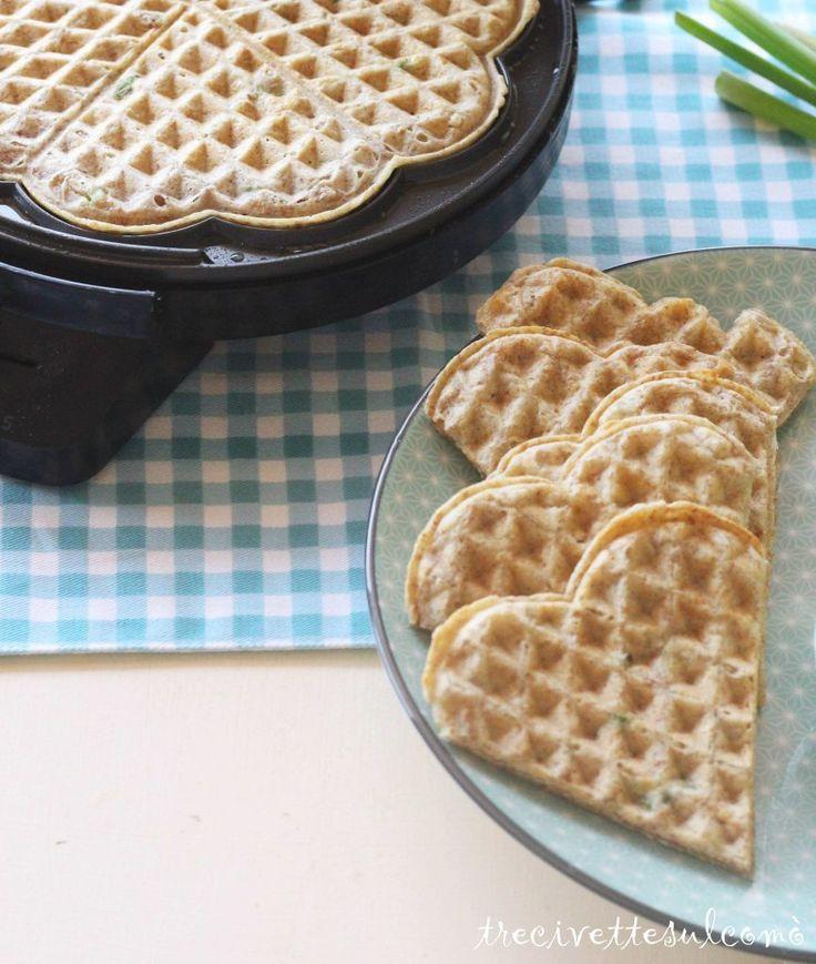 Cuori di waffle salati   Tre Civette sul Comò