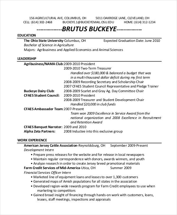 Resume Examples For Zoo Examples Resume Resumeexamples Good Resume Examples Resume Examples Resume Templates
