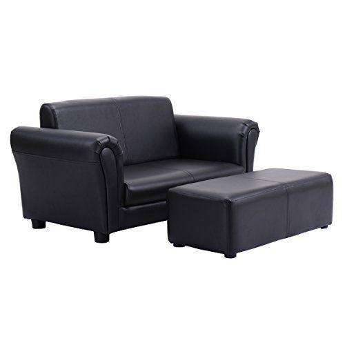 Description: Children's black armchair with matching Ottoman is a fun and multi-functional addition to any kids room. It makes a great reading seat or for putting your feet up in front of the TV. Your kids can enjoy their favorite TV shows from this comfortable sofa. Ideal for any... more details available at https://furniture.bestselleroutlets.com/children-furniture/chairs-seats/armchairs/product-review-for-costzon-kids-sofa-set-2-seater-armrest-children-couch-lounge-w-