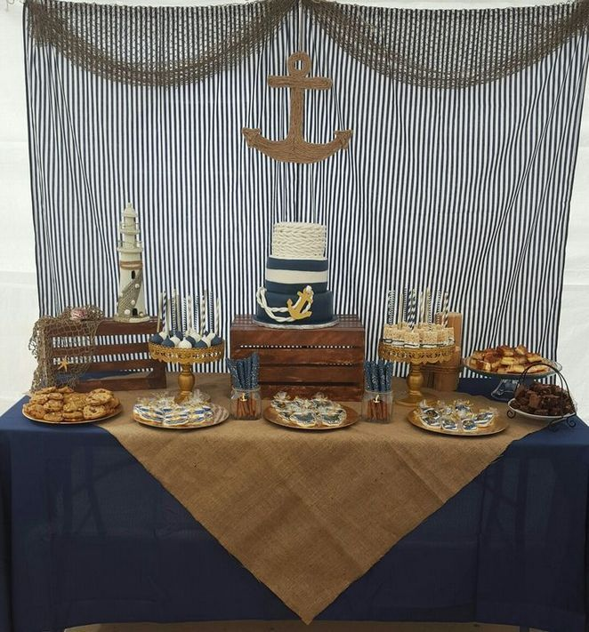 +31 The Baby Shower Ideas For Boys Themes Nautical Navy Anchors Chronicles 53