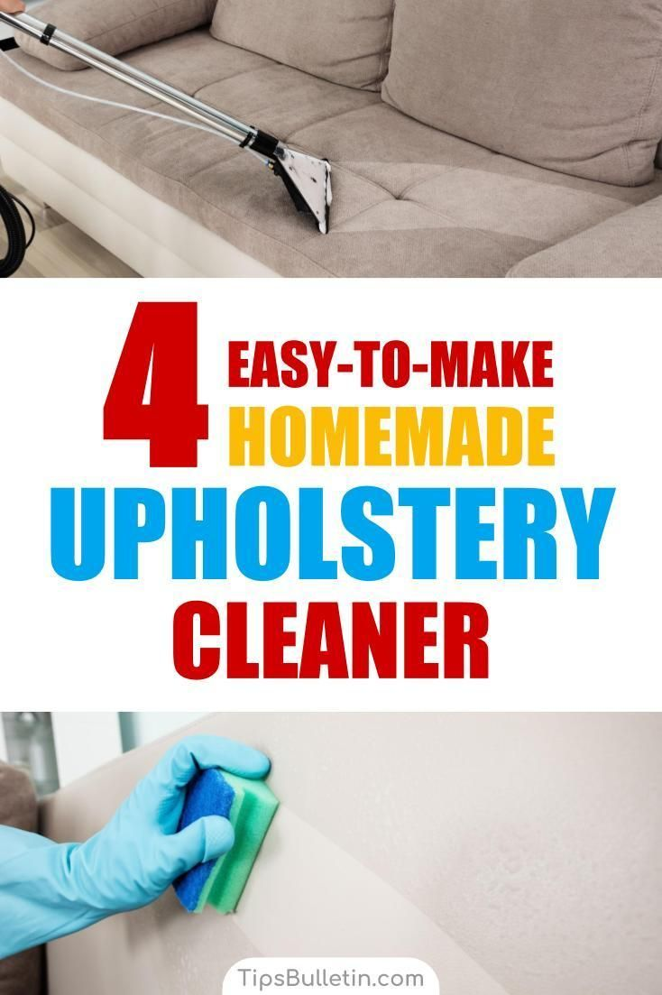 How To Clean Your Sofa Couch Or Car Seat Upholstery With A Natural Homemade Diy Cleaner Includes Recipes On Make Water Rubbing Alcohol Based