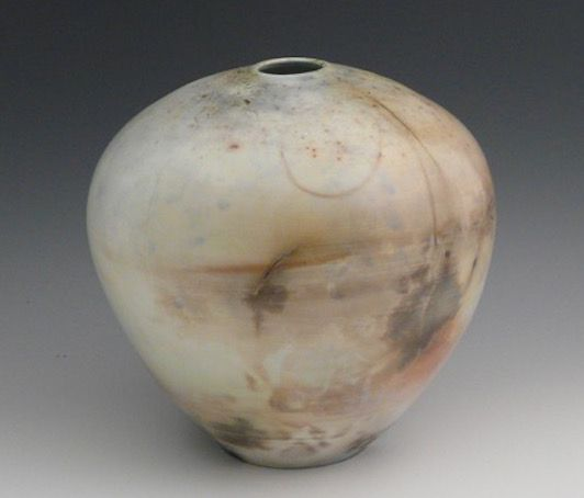 ceramic sagger-fired pots by Marcia Selsor