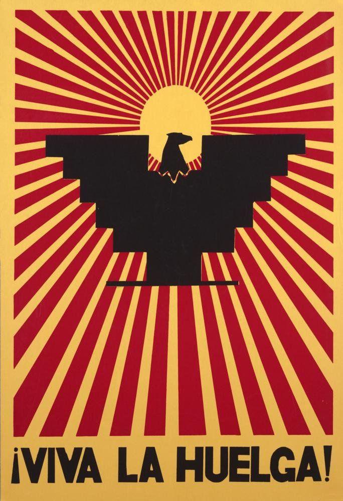 Vintage United Farm Workers Union Postcard