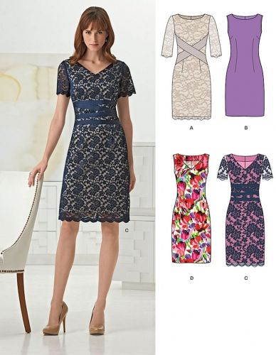 New Look 6261 New Look 6261 Différentes Robes, tailles 36 à 46