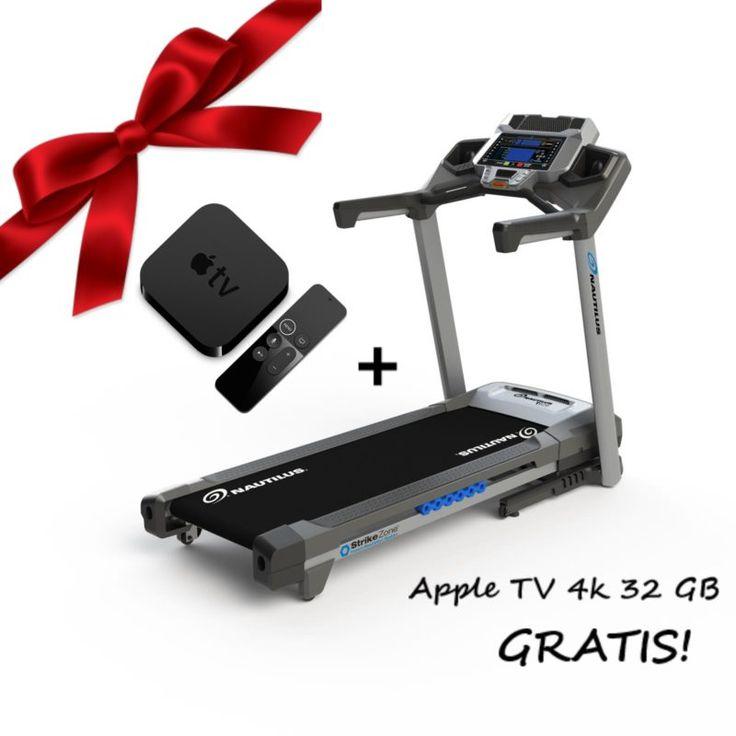 Bieżnia elektryczna Nautilus T626 to absolutny hit sprzedażowy ubiegłego roku amerykańskiej marki Nautilus, będącej jednym z liderów rynku fitness w USA. TYLKO TERAZ KUPUJĄC TEN PRODUKT OTRZYMASZ APPLE TV 4K 32 GB ZUPEŁNIE ZA DARMO!