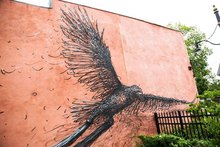 STREET ART UTOPIA » We declare the world as our canvasStreet Art by DALeast in, Rochester NY 1 » STREET ART UTOPIA