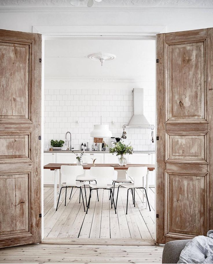 unfinished vintage doors