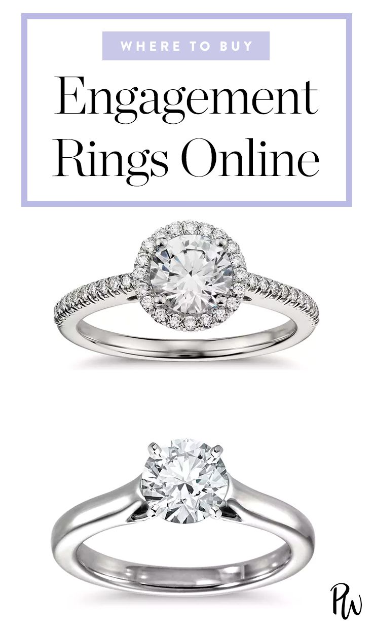 here are the best places to buy an engagement ring online engagementring weddingring - Best Place To Buy Wedding Rings