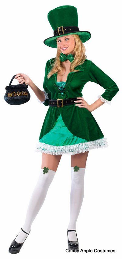 The 25 best leprechaun costume ideas on pinterest diy st adult luscious leprechaun costume candy apple costumes st patricks day costumes solutioingenieria Choice Image