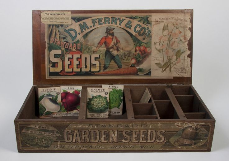 A Garden Seed Box, Detroit Michigan Ferry & Co.,