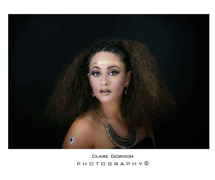 Hair and makeup by Kylie-Ann Roughan  Photography by ClaregPhotography