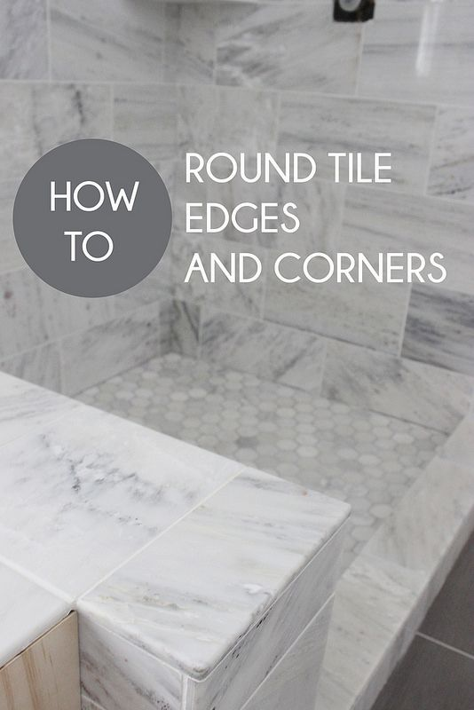 How to Round Tile Corners