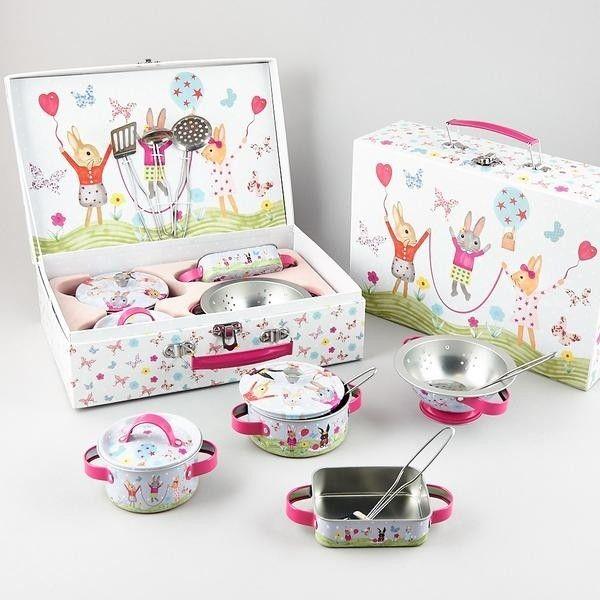 Floss & Rock - 9 Piece Bunny Kitchen Set