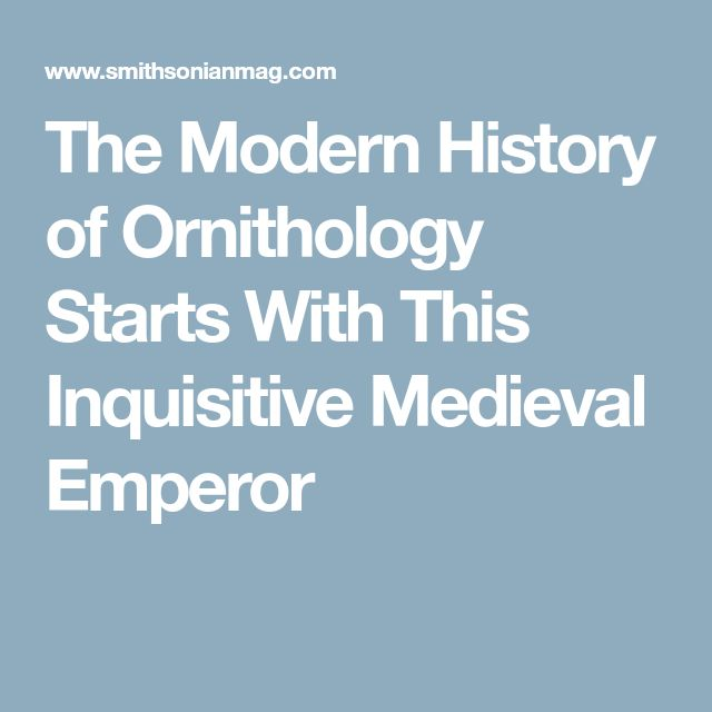 The Modern History of Ornithology Starts With This Inquisitive Medieval Emperor