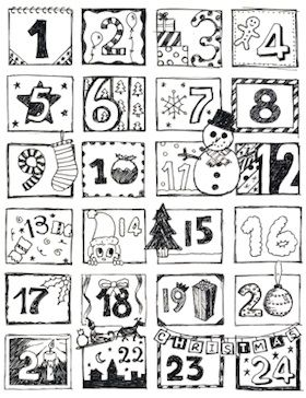 125 Ideen um einen Adventskalender zu füllen