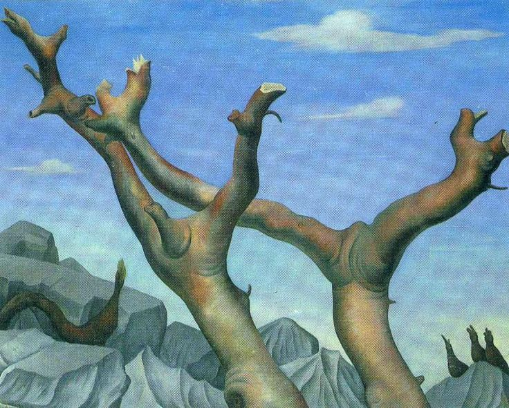 Диего Ривера. Деревья