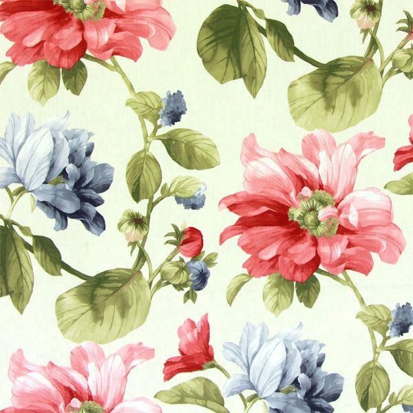 Free Květiny 1 - Dekorační látky - Látky