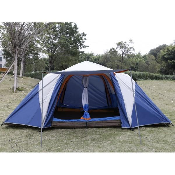 4 - 6 Person 2-Bedroom Tent with Sun Shade  sc 1 st  Pinterest & Best 25+ 2 bedroom tent ideas on Pinterest | 3 room tent Tent ...