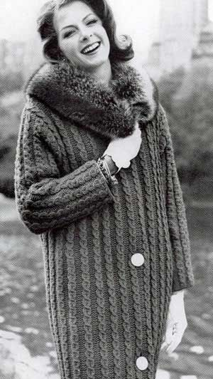 Coat Sweater II, Sizes 10 to 12, 14 to 16 and 18 to 20 | Knitting Patterns