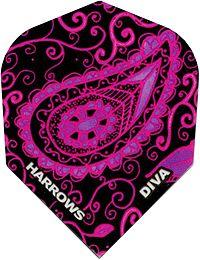 Poly Shape Dart Flights Diva