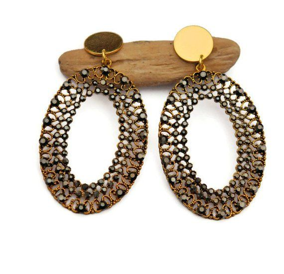 cabochon clips bijou accessoire de mode Boucle d'oreille à pince pour femme