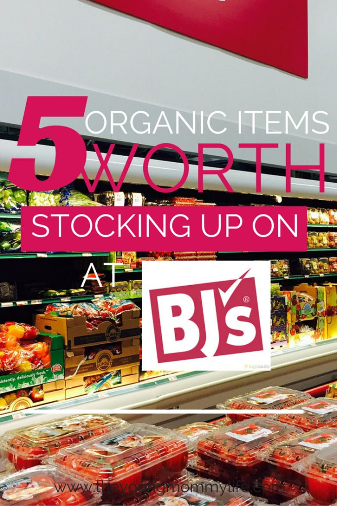 Buying Organic Food in Bulk at BJ's Wholesale Club