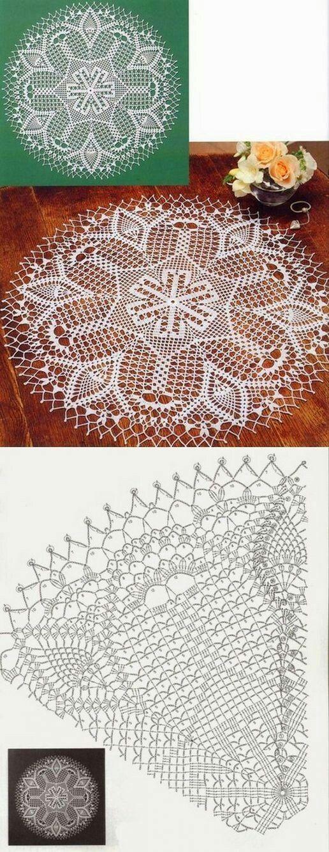 2726 best Crochet Tops images on Pinterest | Crochet, Chrochet and ...