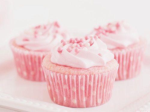 Image via We Heart It #cupcake #dulce #pastel #pink #sweet #cute #beautiful