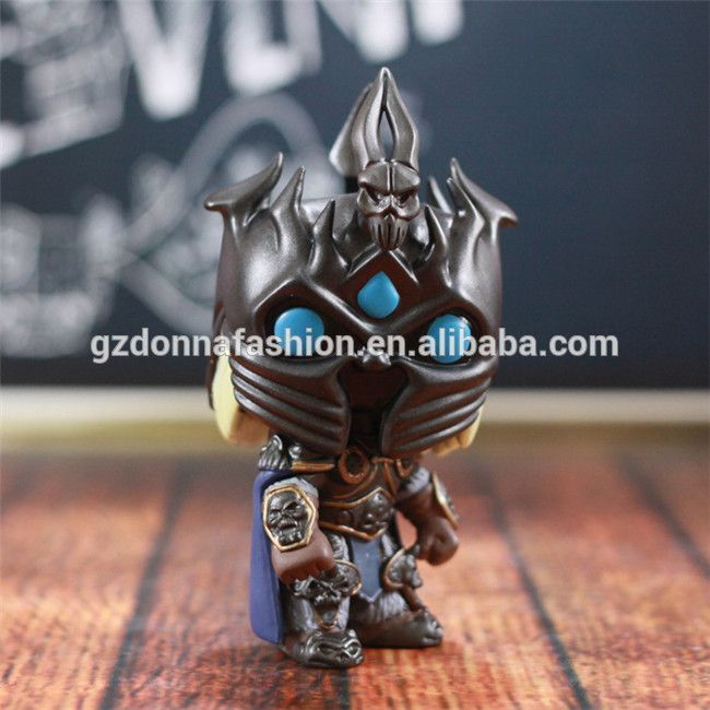 10cm FUNKO POP 15# WOW World of Warcraft The Lich King Arthas Menethil PVC Action Figure Collectible Toy Doll, View WOW , donnatoyfirm Product Details from Guangzhou Donna Fashion Accessory Co., Ltd. on Alibaba.com