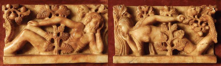 Giseklbertus Adam & Eve Alabaster for wiki - Gislebertus - Wikipedia
