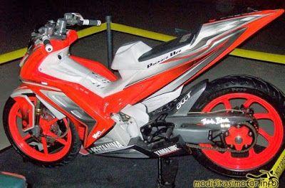Modifikasi Motor Jupiter MX 135 ala Super Moto Sport - Arena-Motor.Net