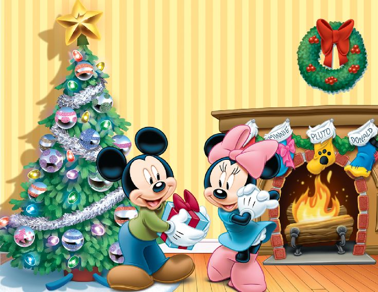 327 best images about mickey and minnie on pinterest - Minnie mouse noel ...