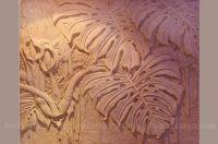 Phù điêu composite cây ráy MS18