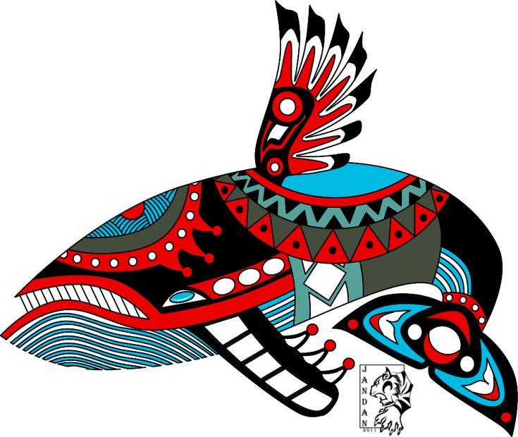 Windfish Haida Tattoo by Songficcer on DeviantArt