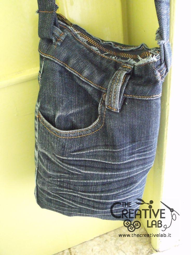 Oltre 25 fantastiche idee su borse da uomo su pinterest for Borse fai da te jeans