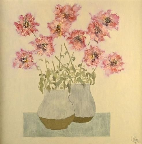 Vase with Flowers - Constantin Piliuta