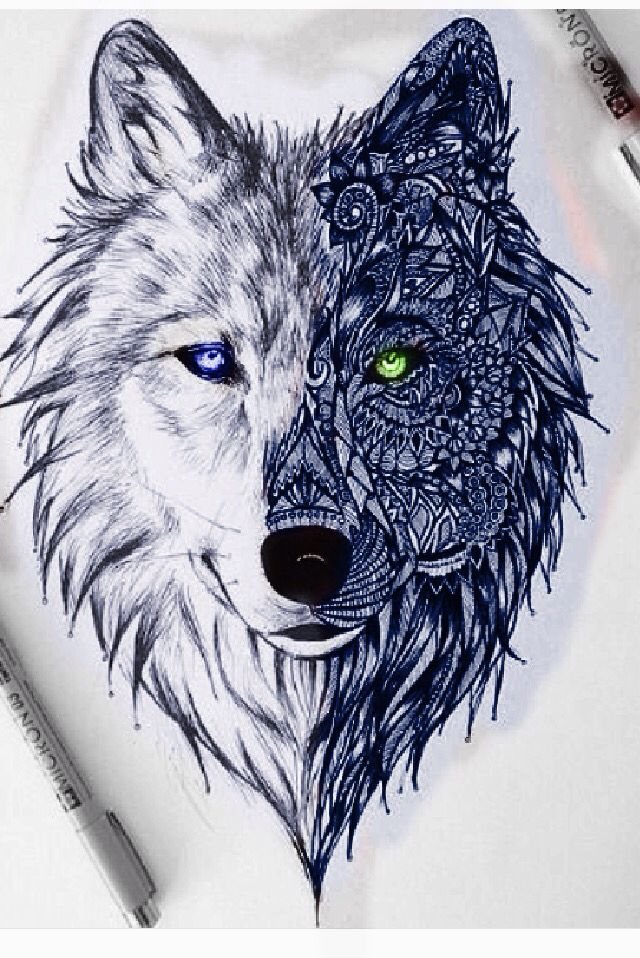 Wolf recolor